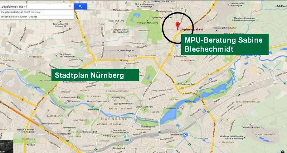 MPU Beratung Nürnberg Sabine Blechschmidt